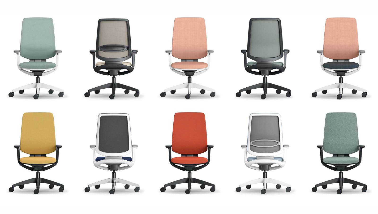 Bürostühle die sitzen