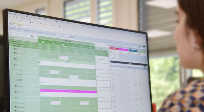 Jederzeit den Überblick dank Digitalisierung der Ressourceneinsatzplanung