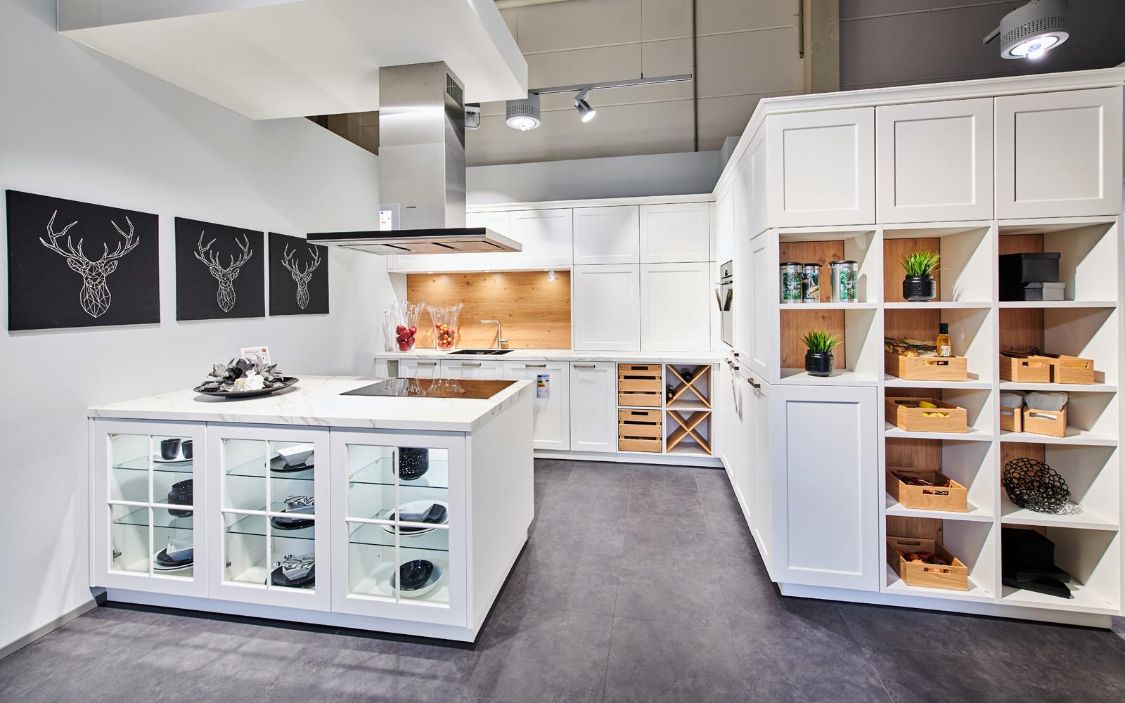Die moderne Landhausküche