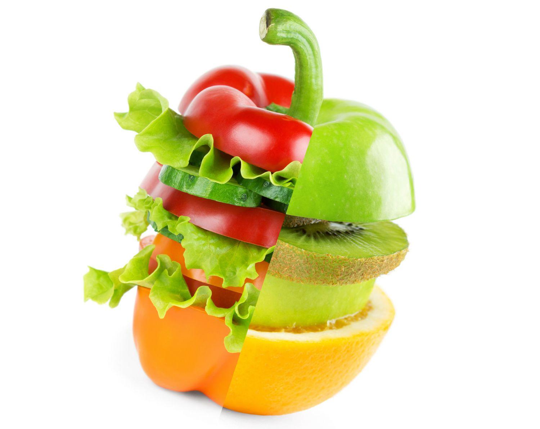 Gesundes Essen hilft der Haut